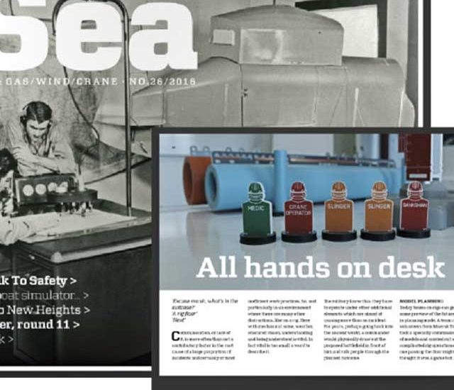 All Hands On Desk! Maersk Training eSea article