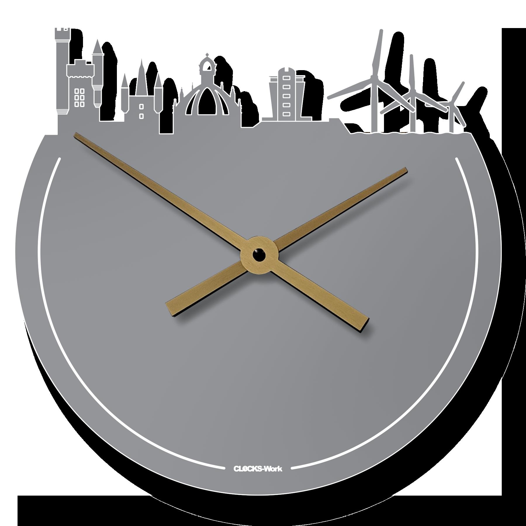 Aberdeen Skyline Clock 10.2.2