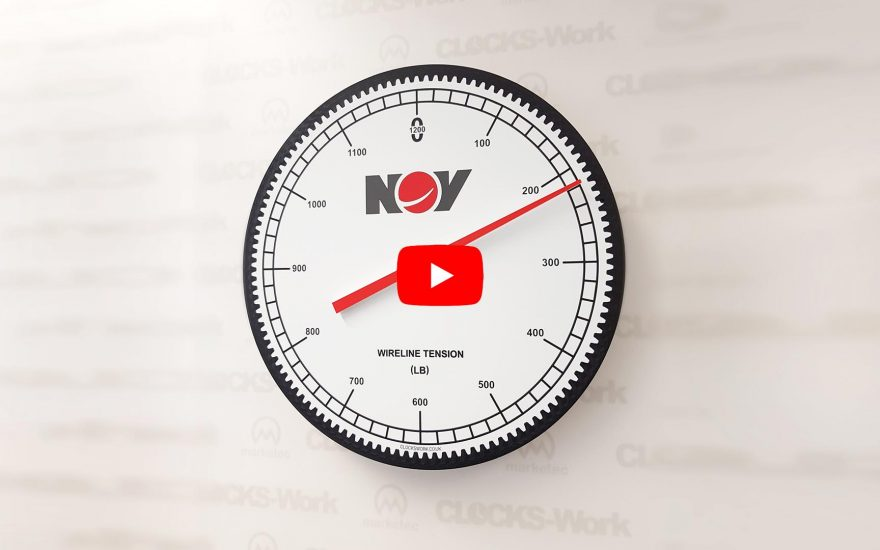 Custom Clocks to support your Brand