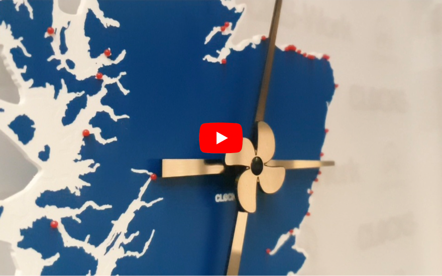 Ports of Scotland Clock